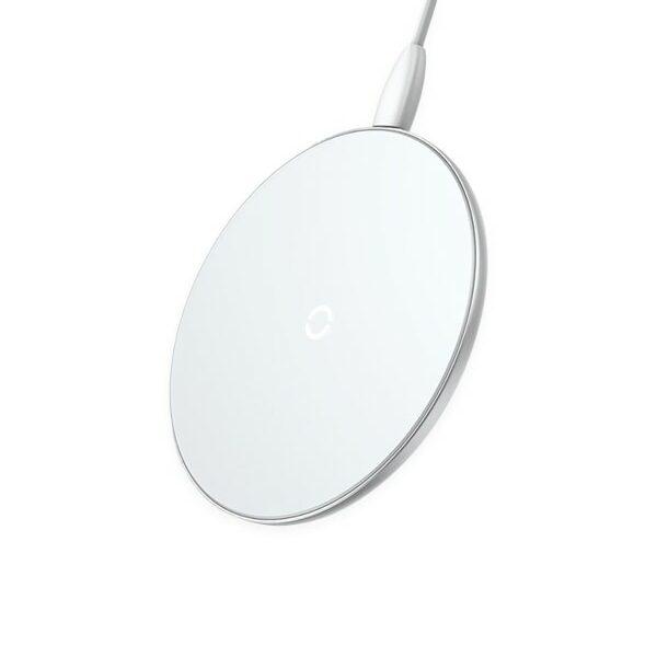 Chargeur Sans Fil à Induction Blanc   Vyly Accessoires High